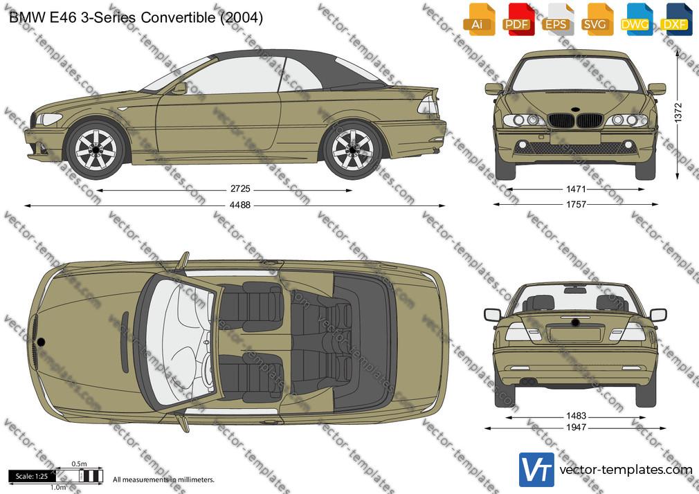 BMW 3-Series Convertible E46 2004