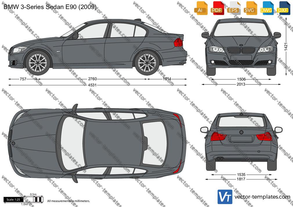 BMW 3-Series Sedan E90 2009