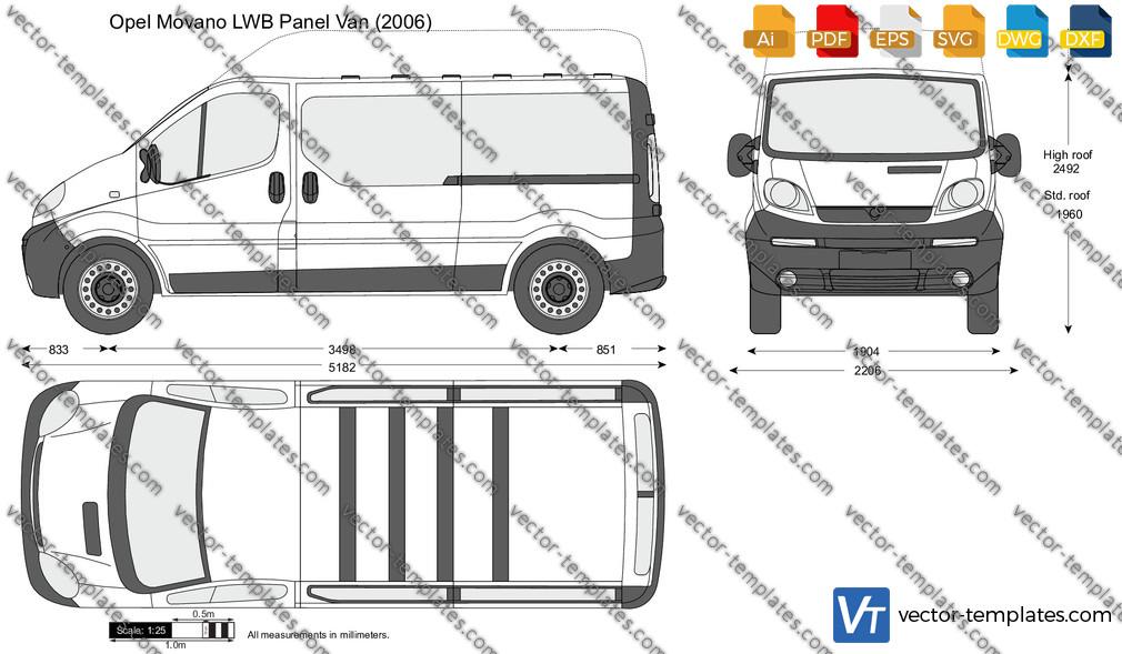 Opel Vivaro LWB Panel Van 2006