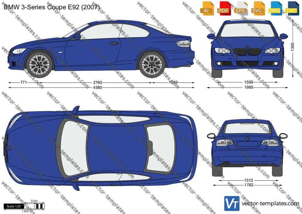 BMW 3-Series Coupe E92 2007
