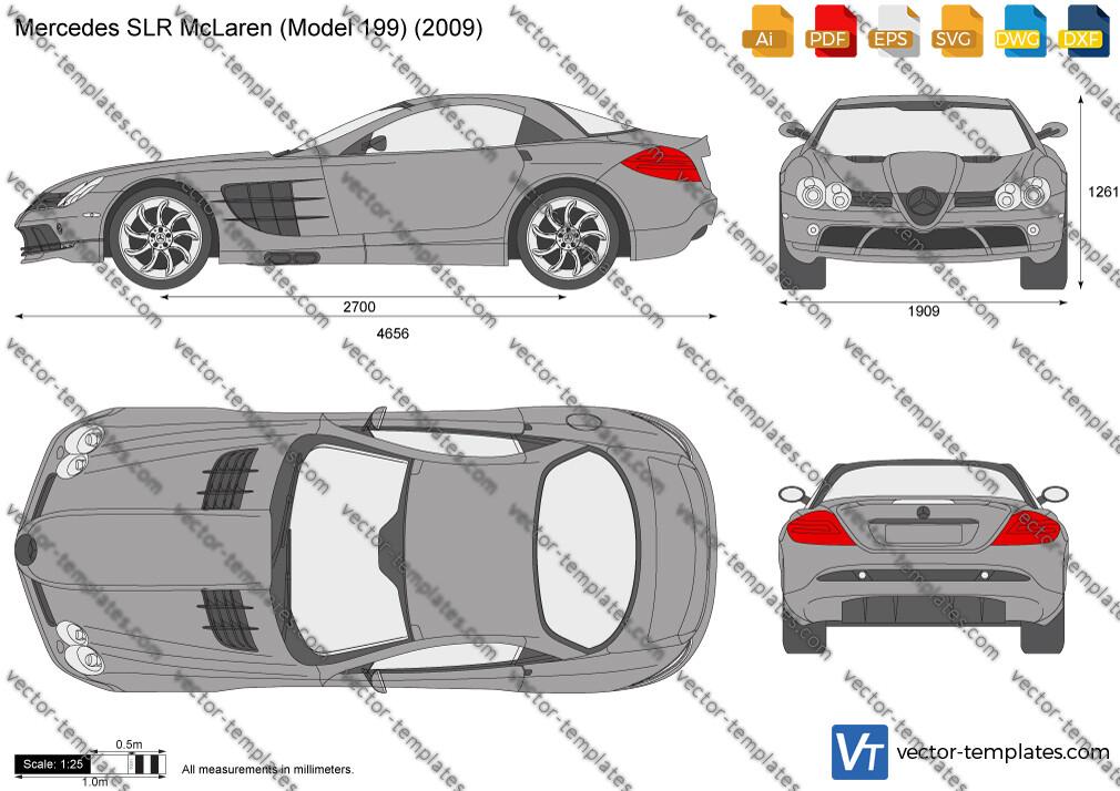 Mercedes-Benz SLR McLaren W199 2009