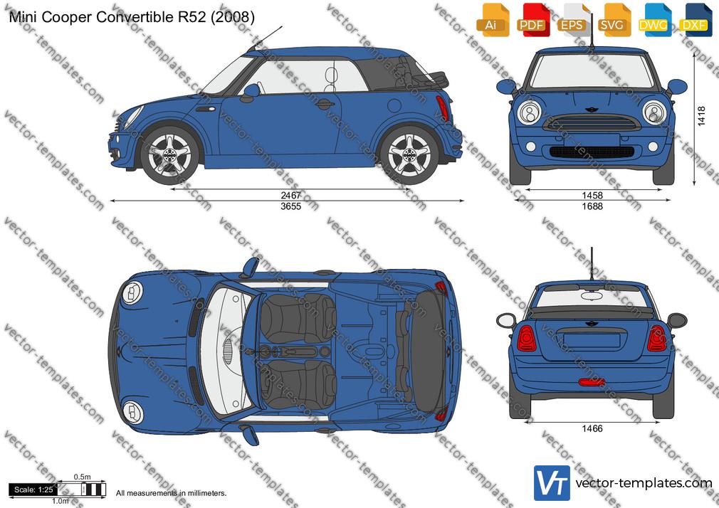 Mini Cooper Convertible R52 2008