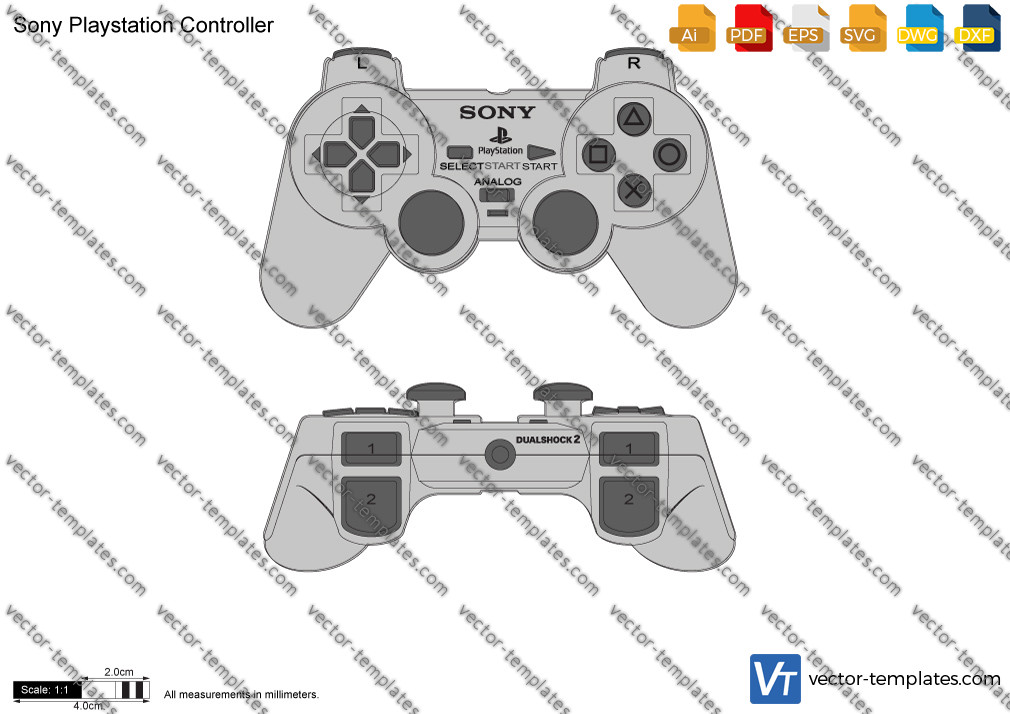 Sony Playstation Controller 2005