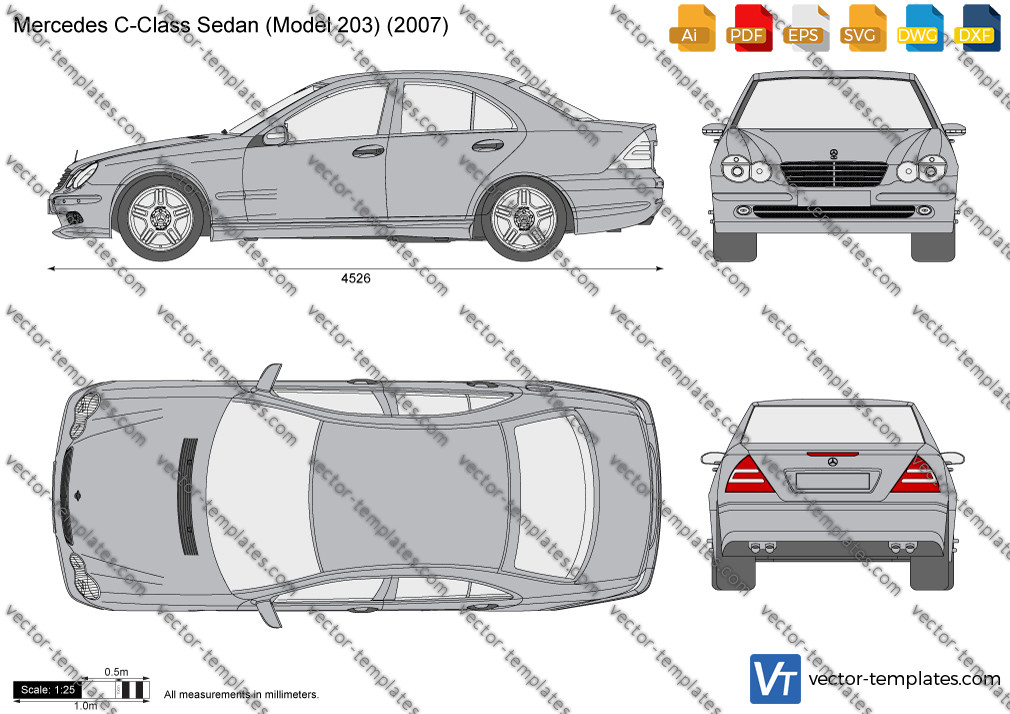 Mercedes-Benz C-Class Sedan W203 2007