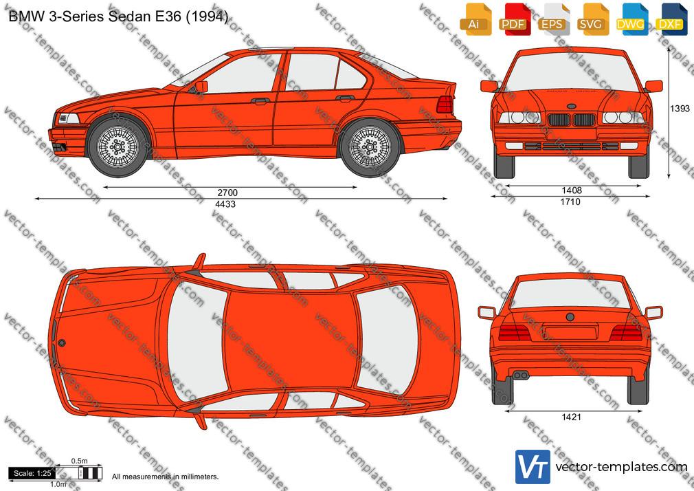 BMW 3-Series Sedan E36 1994