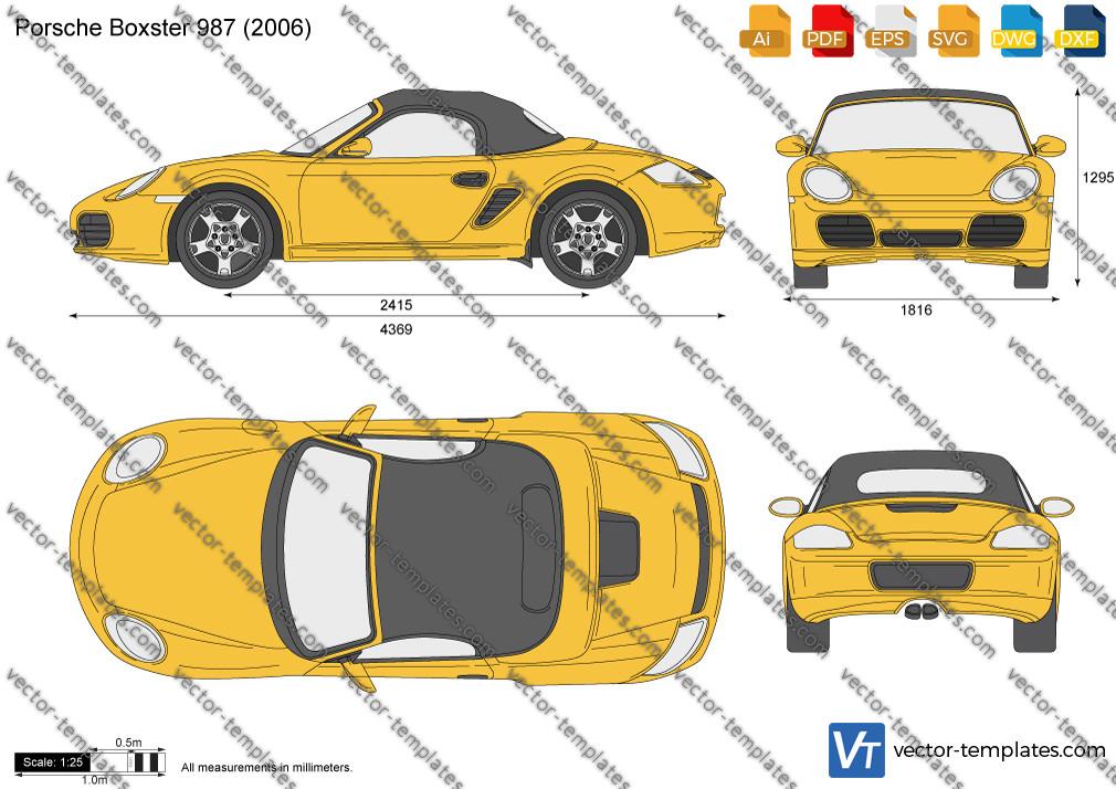 Porsche Boxster 987 2006