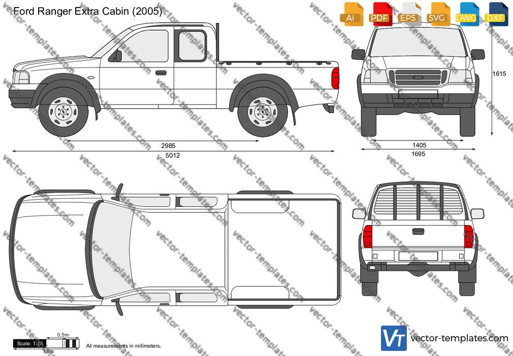 Ford Ranger Extra Cabin 2005