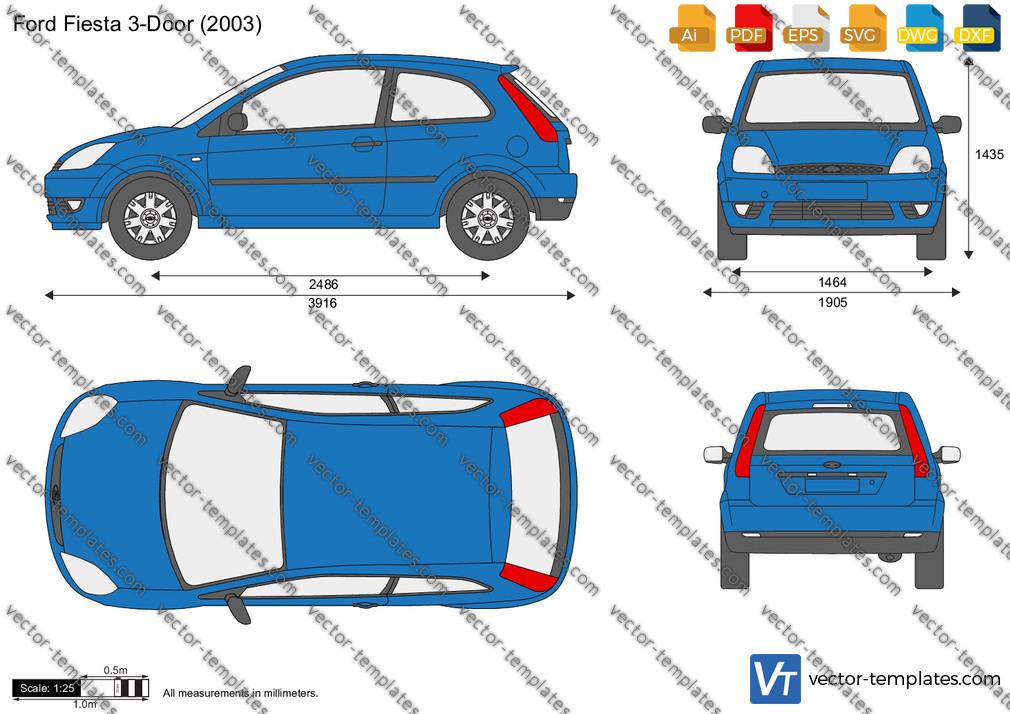 Ford Fiesta 3-Door 2003