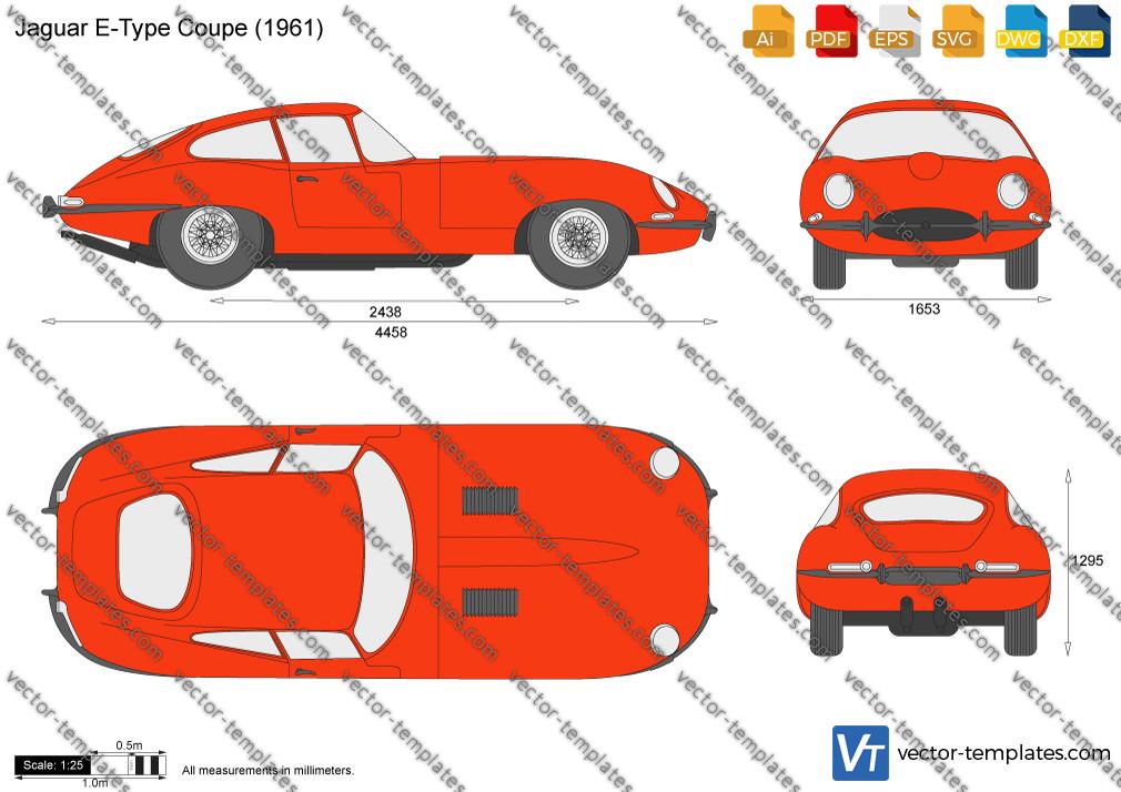 Jaguar E-Type Coupe 1961
