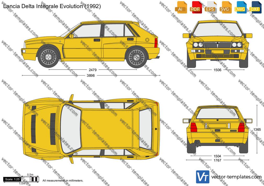Lancia Delta Integrale Evolution 1992