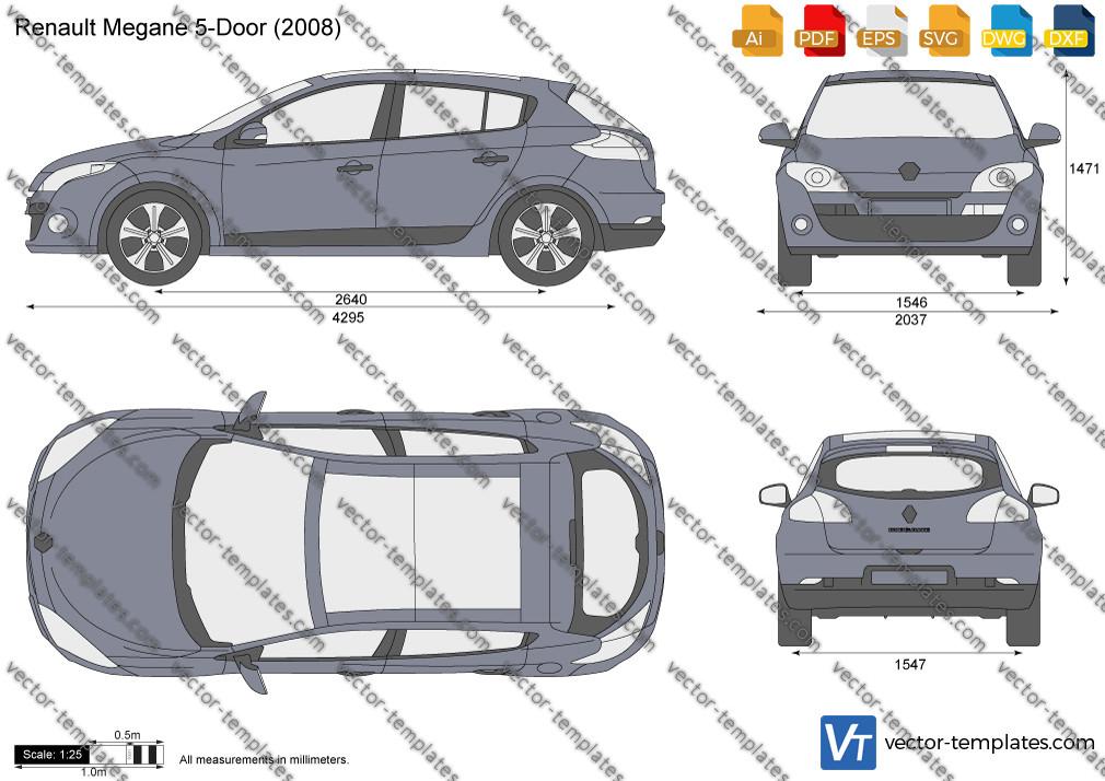 Renault Megane 5-Door 2008