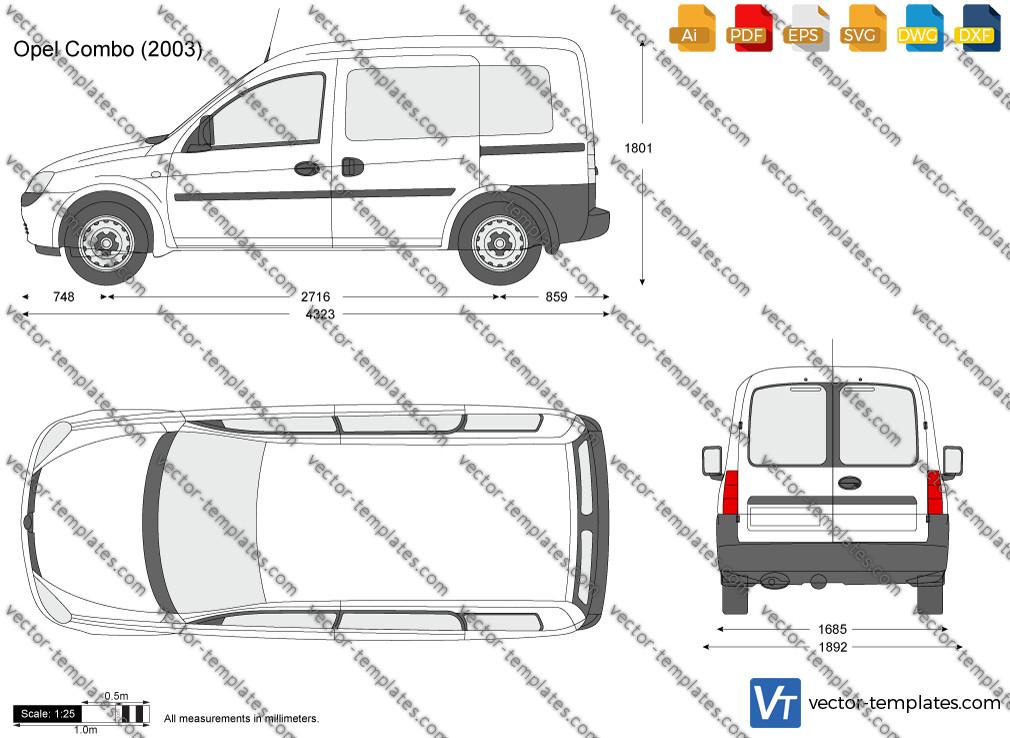 Opel Combo C 2003