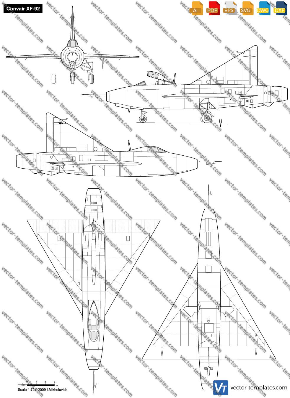 Convair XF-92