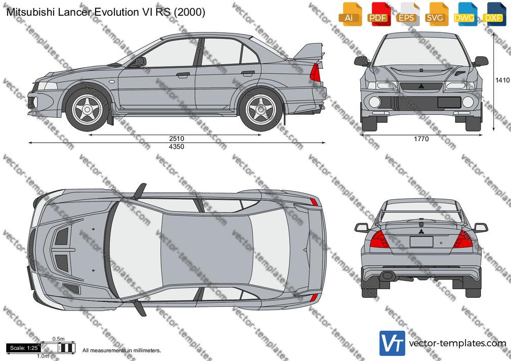 Mitsubishi Lancer Evolution VI RS 2000