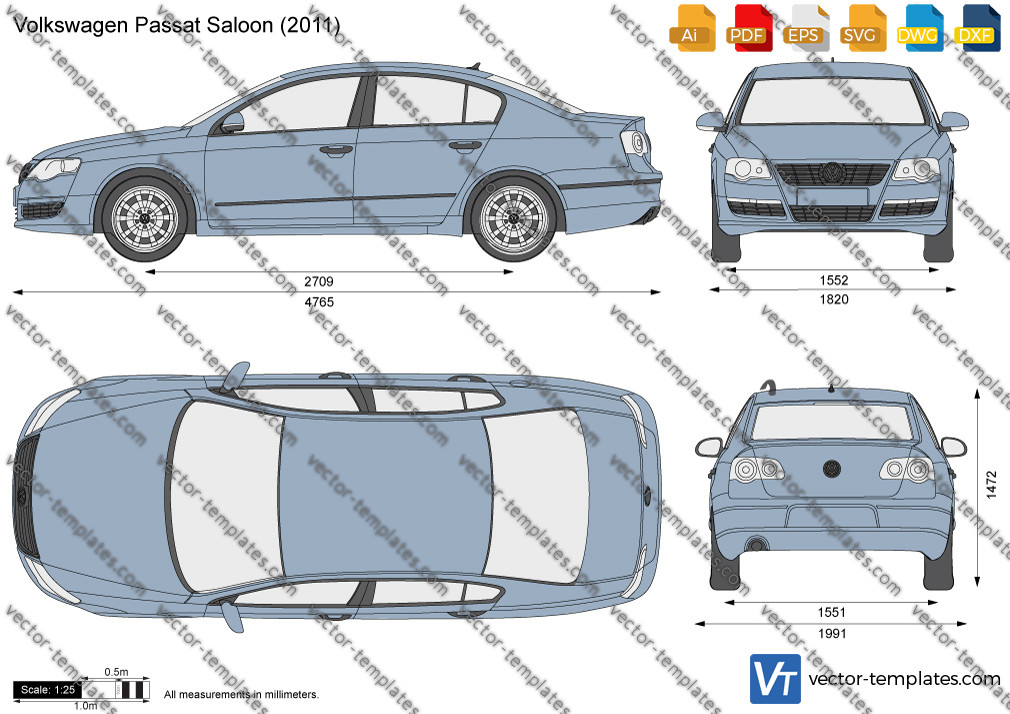 Volkswagen Passat Saloon 2011