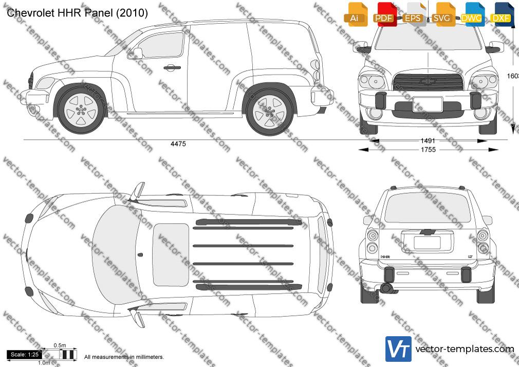 Chevrolet HHR Panel 2010