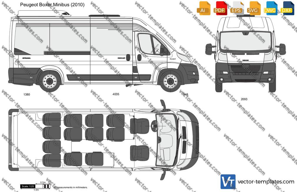 Peugeot Boxer Minibus 2010