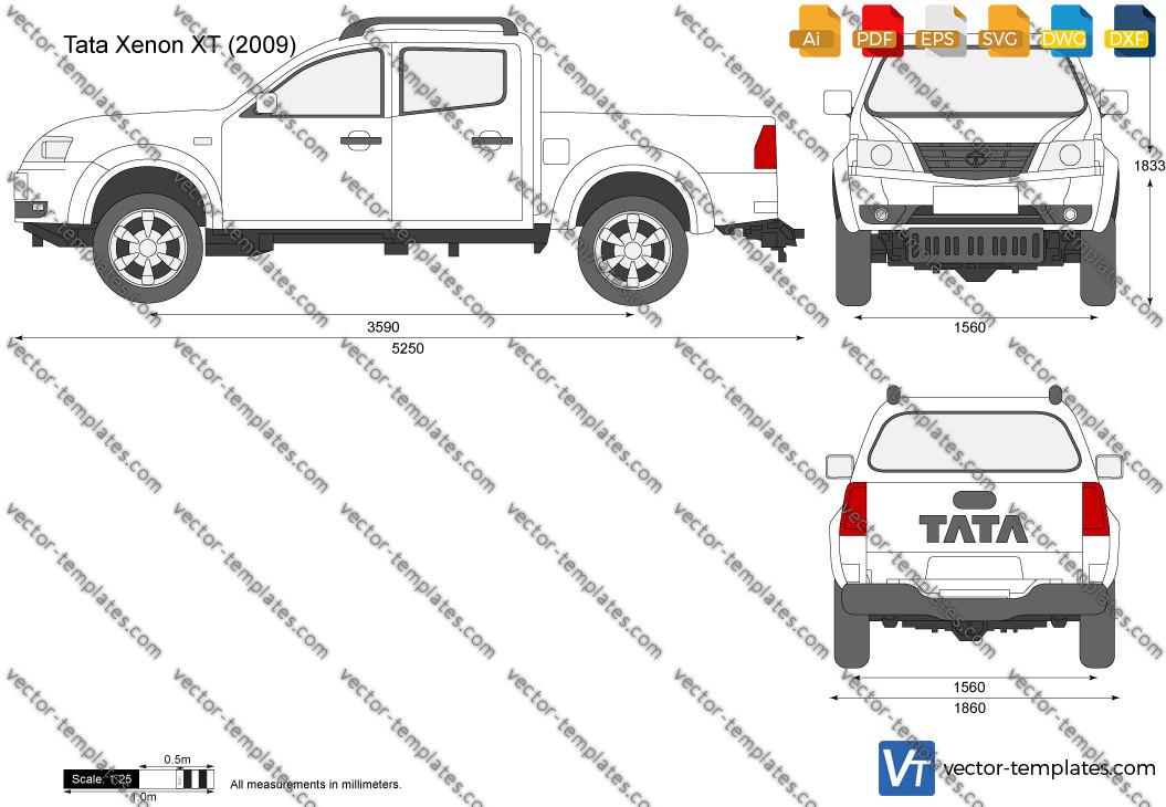 Tata Xenon XT 2009