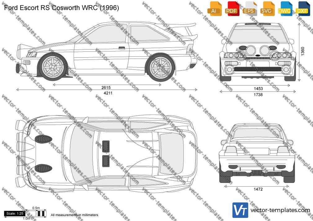 Ford Escort RS Cosworth WRC 1996