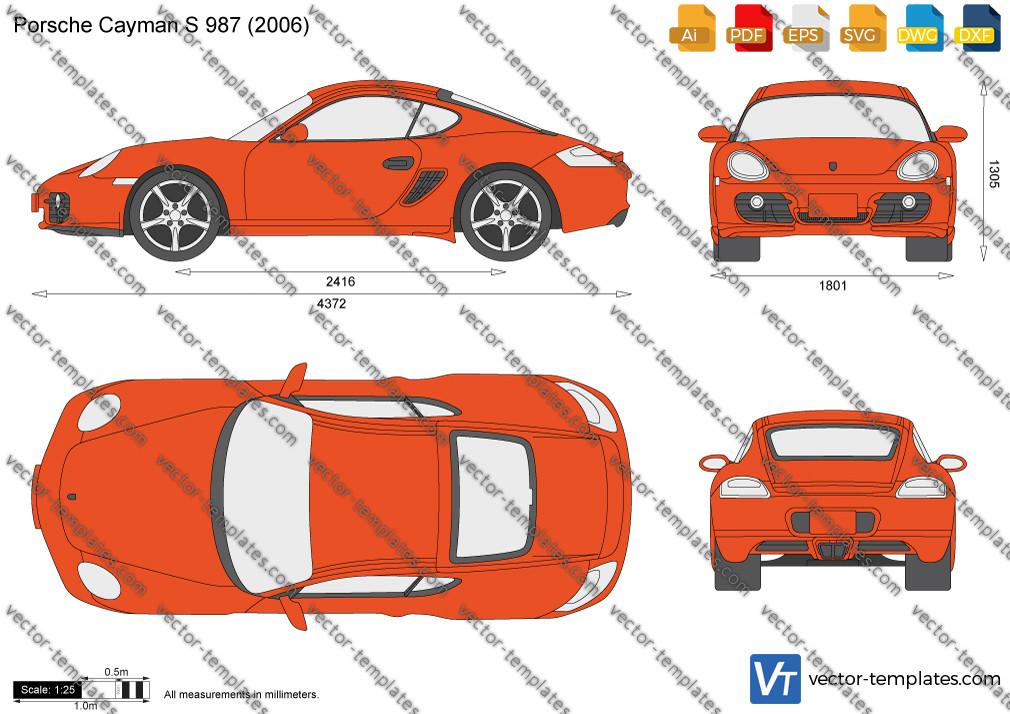 Porsche Cayman S 987 2006