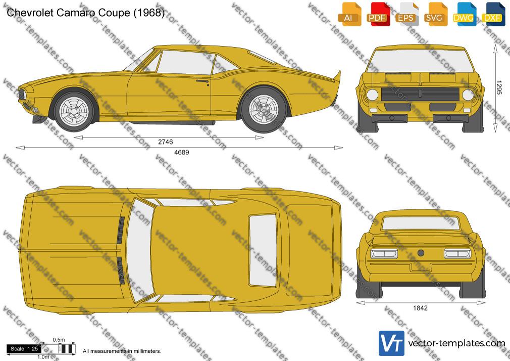 Chevrolet Camaro Coupe 1968