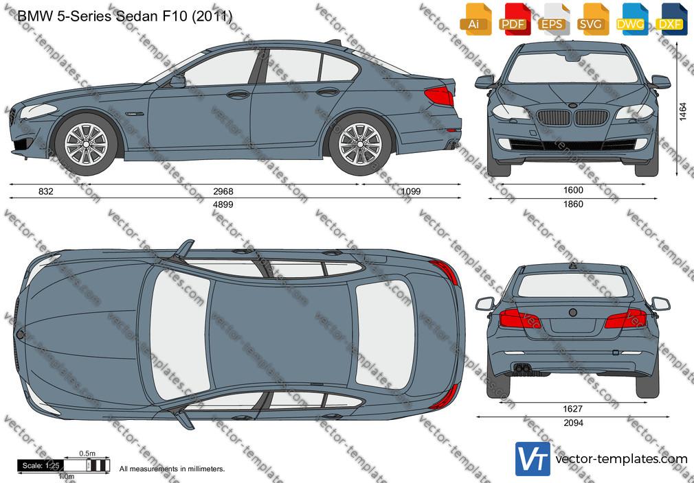 BMW 5-Series Sedan F10 2011