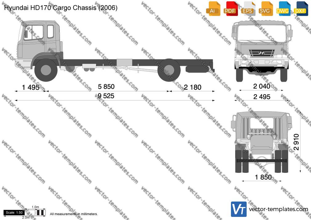 Hyundai HD170 Cargo Chassis 2006