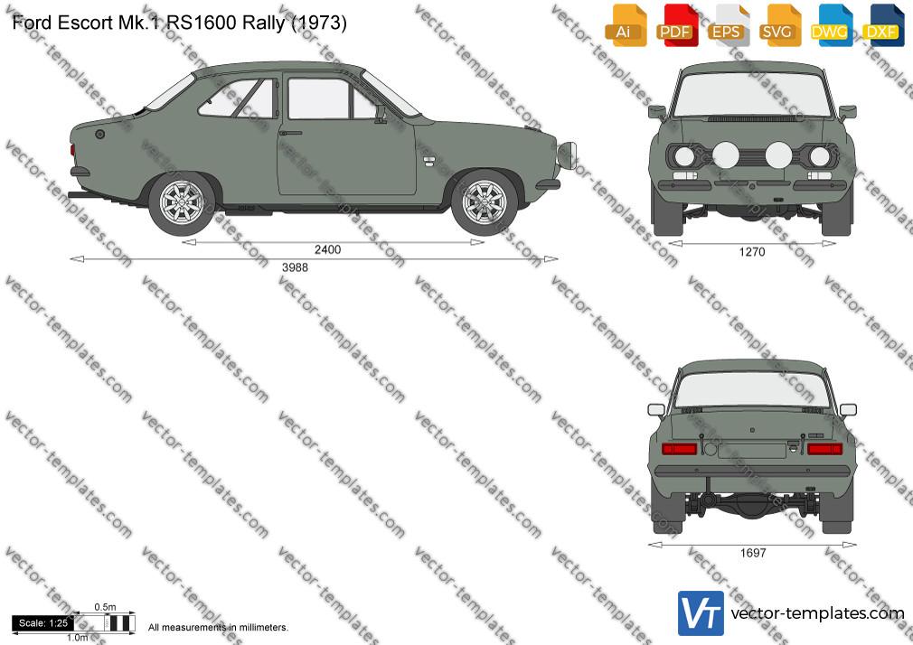 Ford Escort Mk. I RS1600 1972