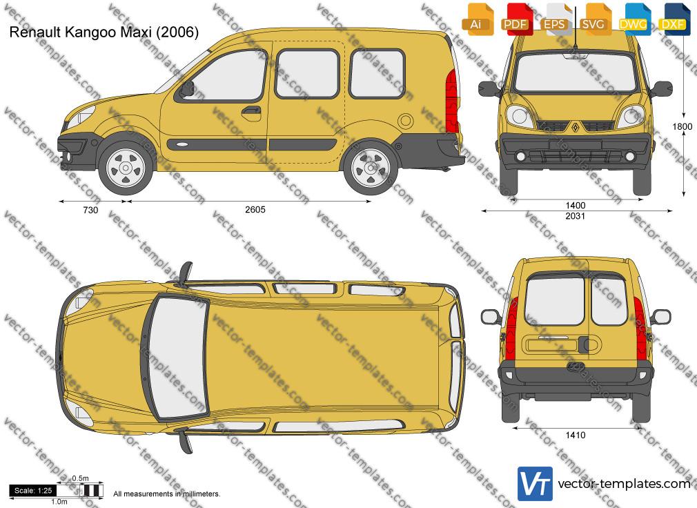 Renault Kangoo Maxi 2006