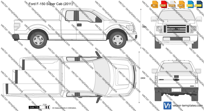 Ford F-150 Super Cab 2011