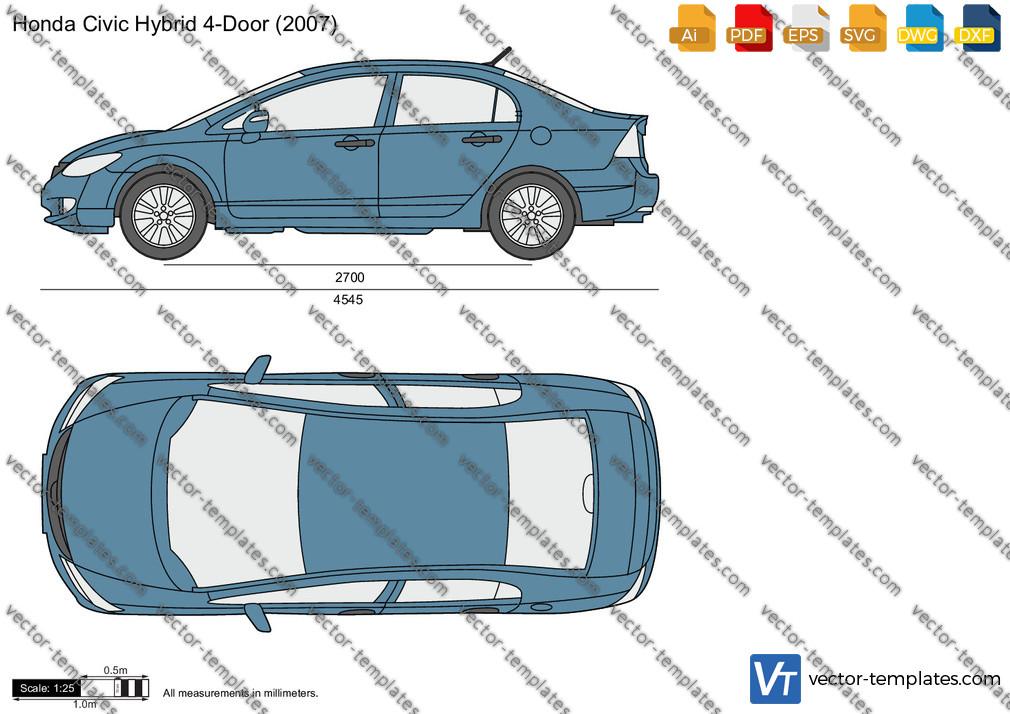 Honda Civic Hybrid 4-Door 2007