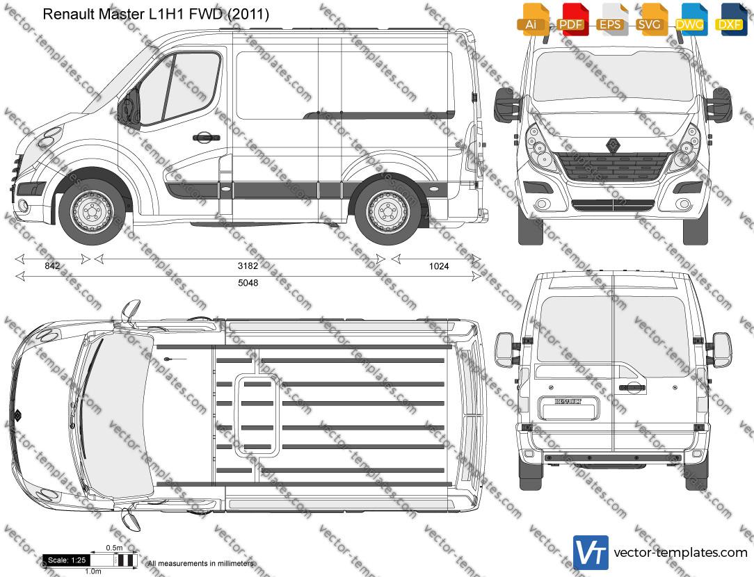 Renault Master L1H1 FWD 2011