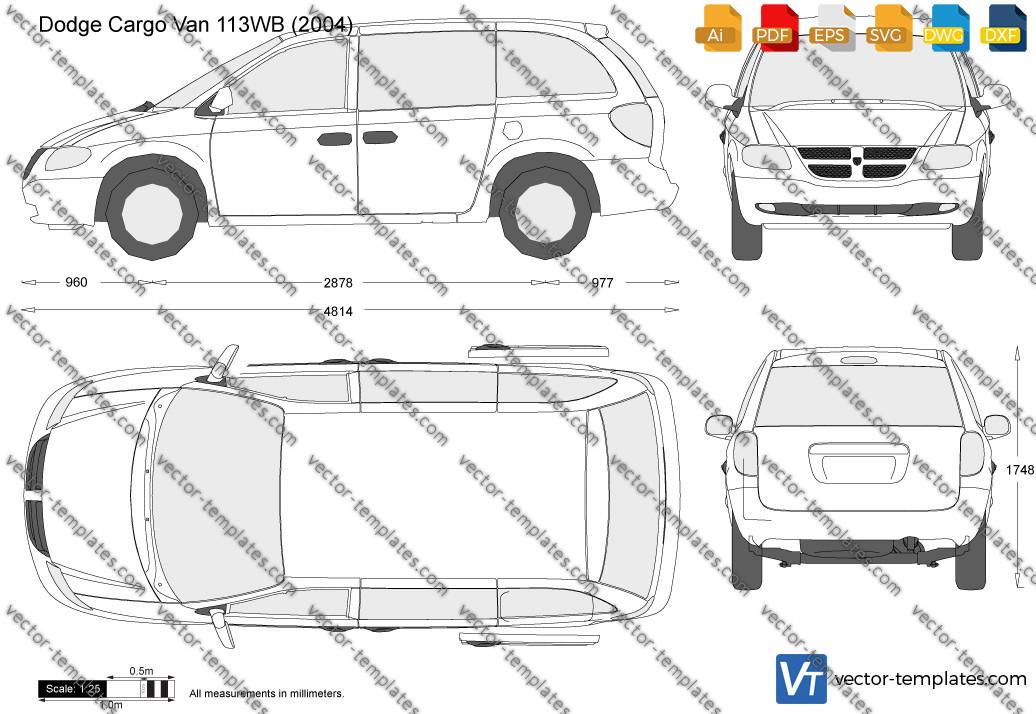 Dodge Cargo Van 113WB 2004