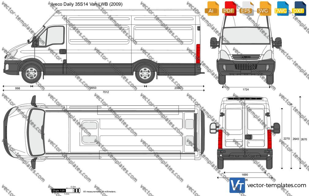 Iveco Daily 35S14 Van LWB 2009