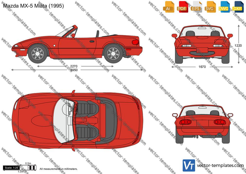 Mazda MX-5 Miata NA 1995