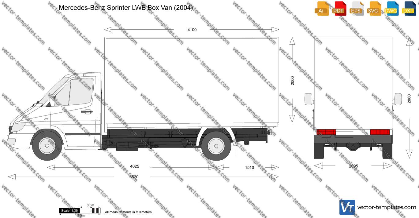 Mercedes-Benz Sprinter LWB Box Van 2004