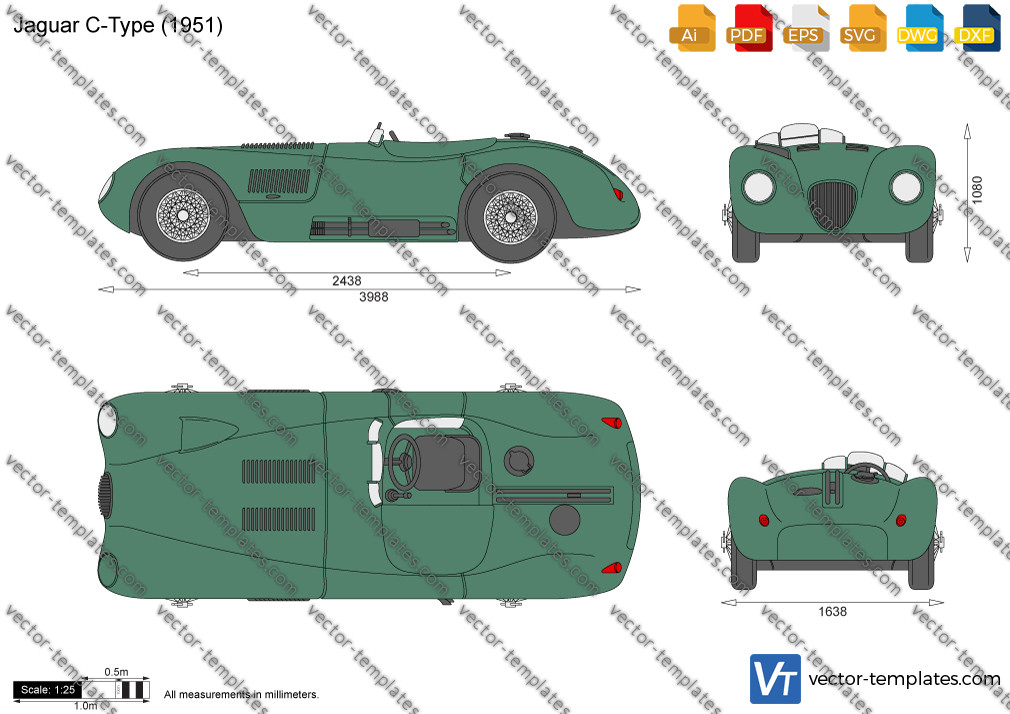 Jaguar C-Type 1951