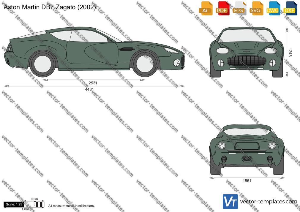 Aston Martin DB7 Zagato 2002