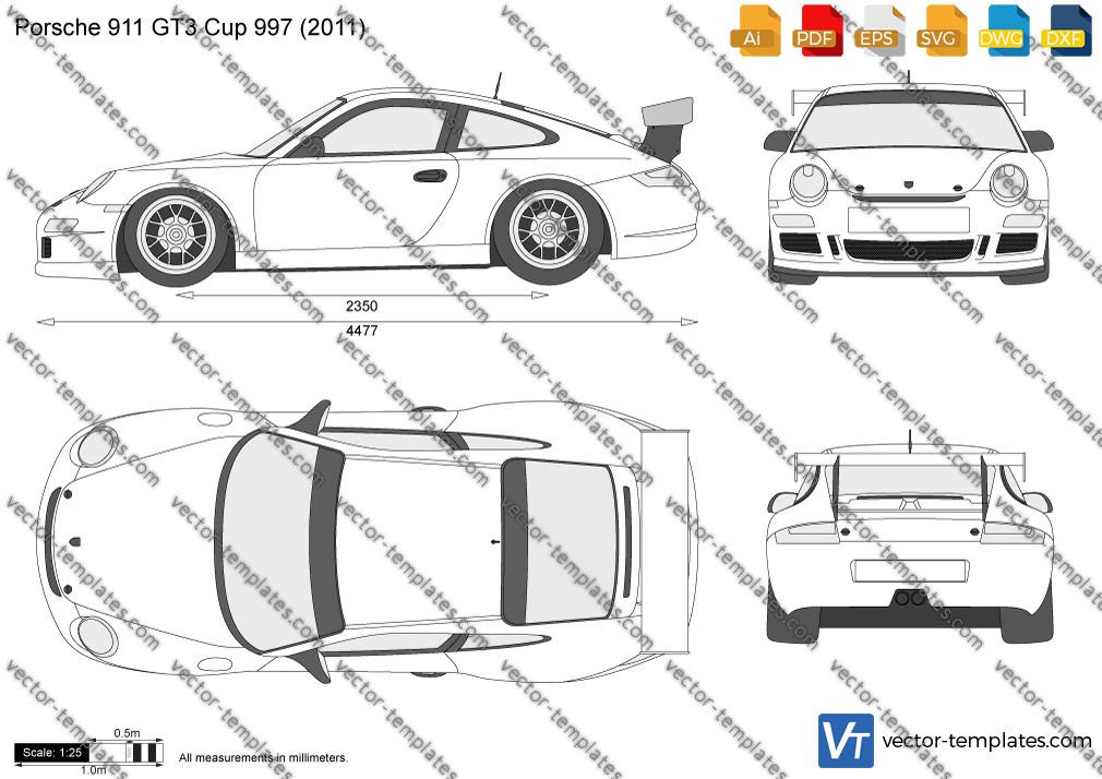 Porsche 911 GT3 Cup 997 2011