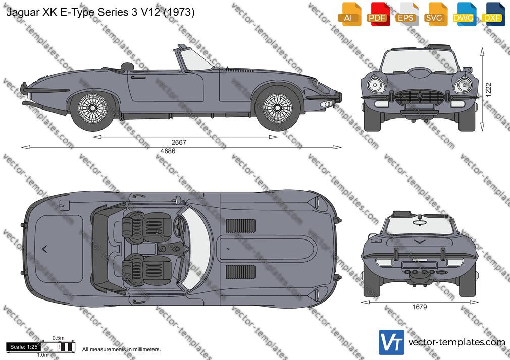 Jaguar XK E-Type Series 3 V12 1973