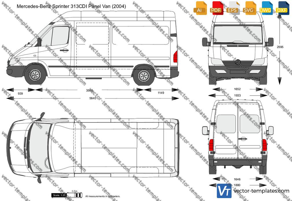 Mercedes-Benz Sprinter 313CDI Panel Van 2004