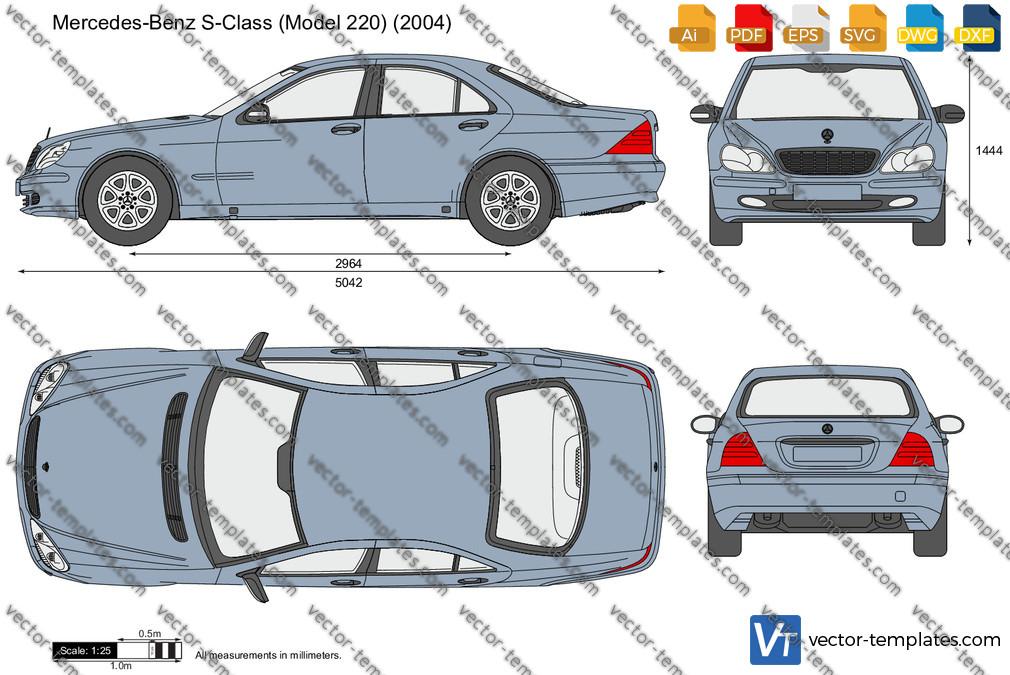 Mercedes-Benz S-Class W220 2004
