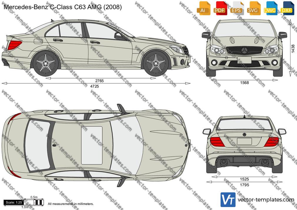 Mercedes-Benz C-Class C63 AMG 2008