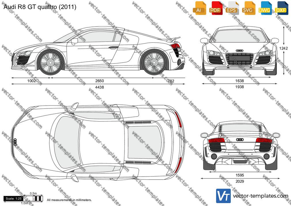 Audi R8 GT quattro 2011