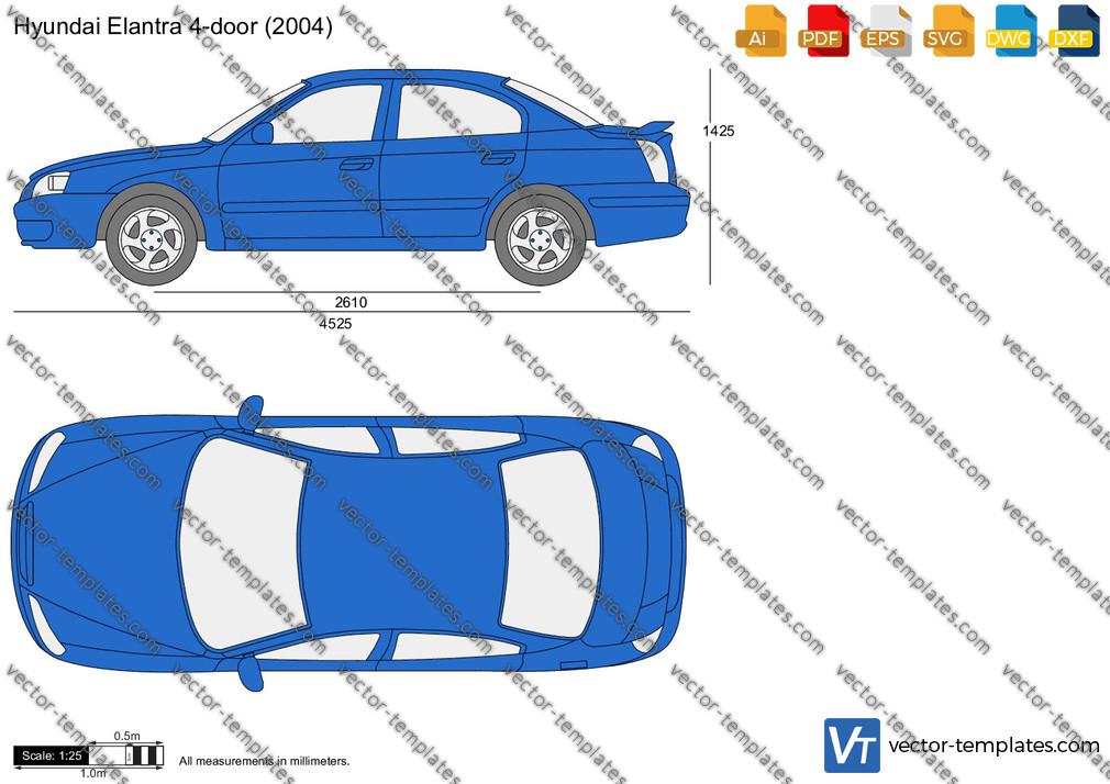 Hyundai Elantra 4-Door 2004
