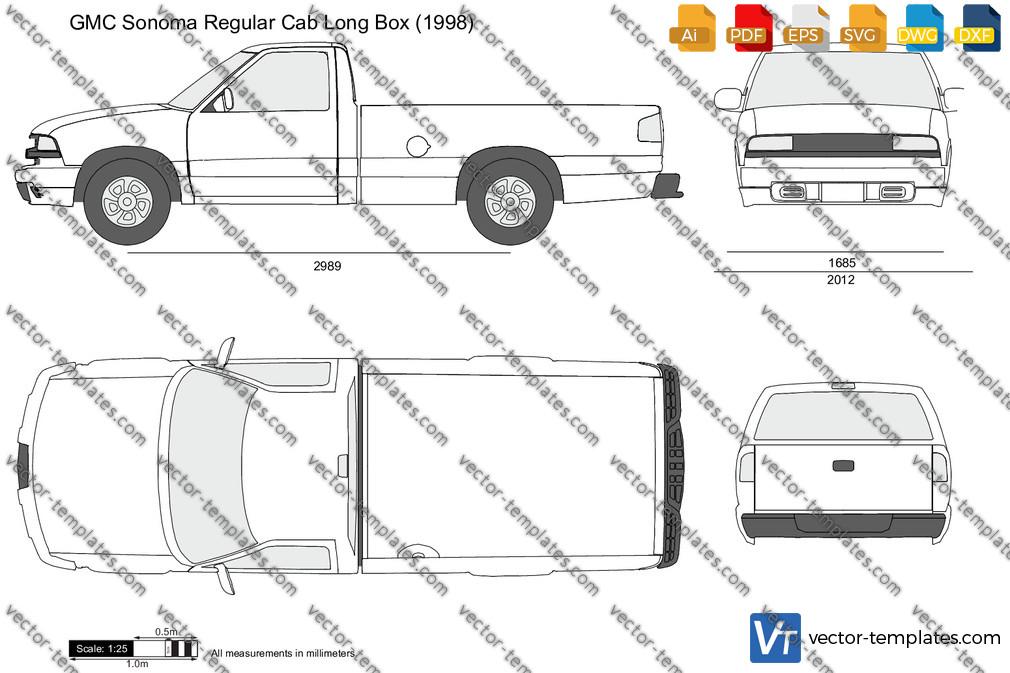 GMC Sonoma Regular Cab Long Box 1998