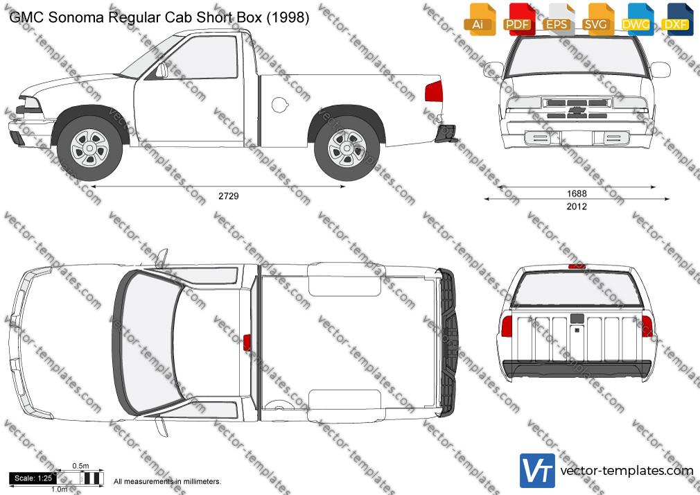 GMC Sonoma Regular Cab Short Box 1998