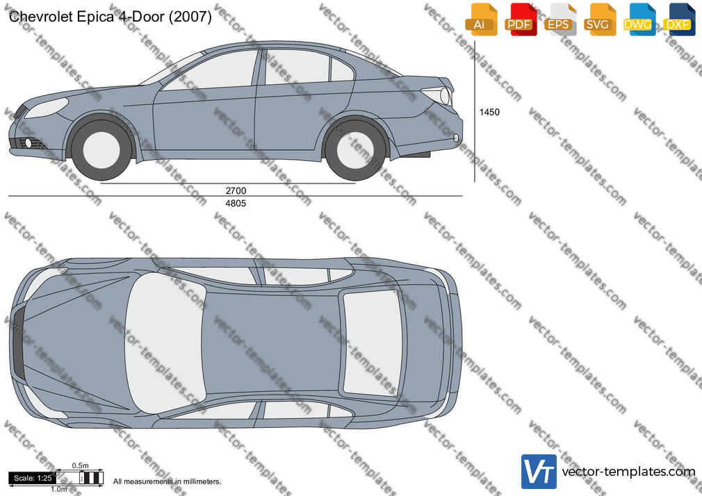 Chevrolet Epica 4-Door 2007