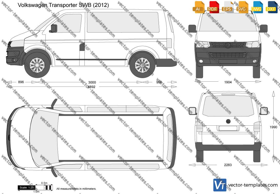 Volkswagen Transporter T5.2 SWB 2012