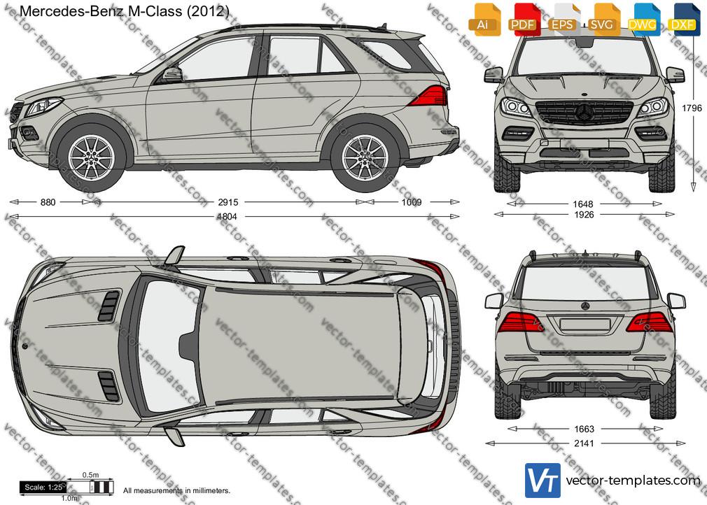 Mercedes-Benz M-Class W166 2012